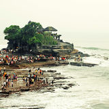 Tanah Lot, Bali, Indonesien Lizenzfreies Stockfoto