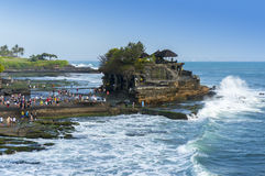 Tanah lot at bali island Royalty Free Stock Photography