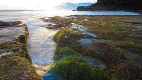 Tanah Lot beach, Bali Royalty Free Stock Images