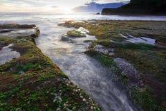 Tanah Lot beach, Bali Royalty Free Stock Image