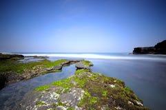 Tanah Lot Beach at Bali, Indonesia Royalty Free Stock Photo