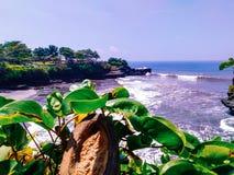 Tanah lot beach royalty free stock image