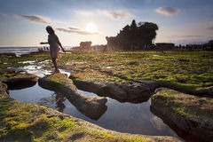 Tanah lot complex. Bali. Indonesia Stock Images