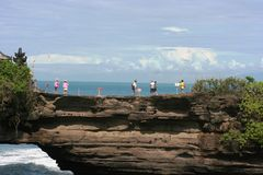 Tanah lot complex Royalty Free Stock Photography