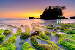 Tanah Lot Hindu Temple - Bali Royalty Free Stock Photography