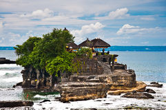 Tanah Lot Means Stock Photo