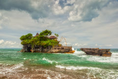 Tanah Lot sea temple bali Royalty Free Stock Images