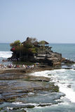 Tanah lot sea temple bali indonesia Stock Photos