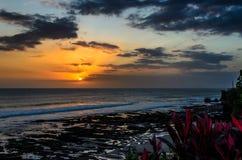 Tanah Lot Sunset Stock Photos