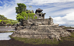 Tanah Lot temple Royalty Free Stock Photo