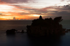 Tanah Lot temple in Bali Royalty Free Stock Photography