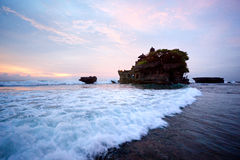 The Tanah Lot Temple, Bali, Indonesia. Royalty Free Stock Photo