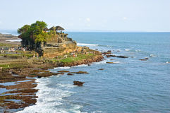 Tanah Lot temple, Bali, Indonesia Stock Photos