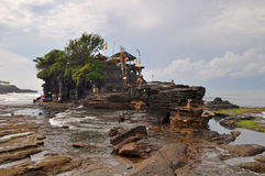 Tanah Lot Temple, Bali Indonesia Stock Photos