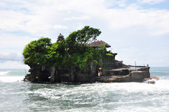 Tanah lot temple on Bali Stock Images