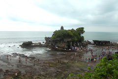 Tanah Lot Temple, Bali Indonesia Stock Photography