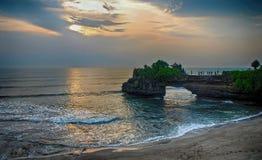 Tanah Lot temple Bali, Indonesia Royalty Free Stock Photos