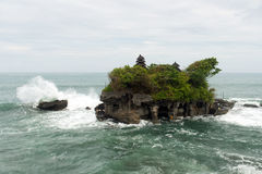 Tanah Lot temple, Bali Indonesia Stock Image