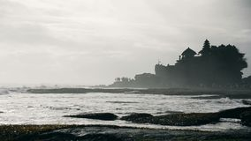 Tanah Lot Temple at Bali Indonesia. stock footage