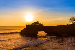 Tanah Lot Temple - Bali Indonesia Stock Image