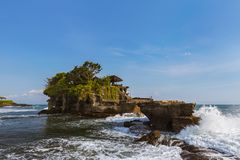 Tanah Lot Temple - Bali Indonesia royalty free stock photos