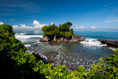 Tanah Lot temple, Bali island, Indonesia Royalty Free Stock Images