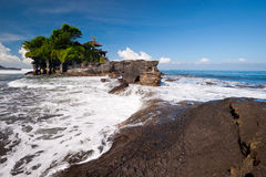 Tanah Lot temple, Bali island, Indonesia Stock Image