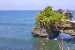 The Tanah Lot Temple.Bali Island. Indonesia. Royalty Free Stock Photo