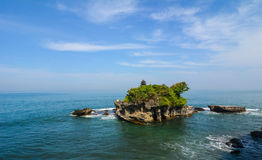 Tanah Lot temple in Bali Royalty Free Stock Photos