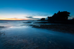 Tanah Lot temple - Bali Stock Image