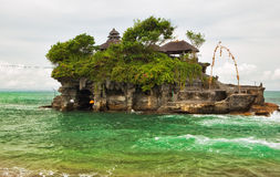 Tanah Lot temple (Pura Tanah Lot) Stock Images