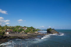 Tanah Lot - the temple in the sea Royalty Free Stock Image