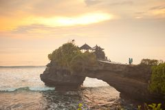 Tanah Lot Temple Stock Images