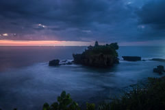 Tanah Lot temple Royalty Free Stock Images