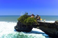 Tanah lott, Bali. Royaltyfri Foto