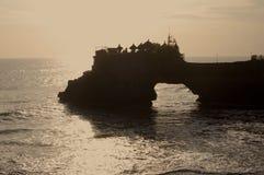 Tanah lott Bali Arkivfoto