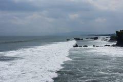 Tanah lott, en indonesisk ö Royaltyfria Foton