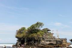 Tanah lott från slut i Bali, Indonesien Royaltyfri Fotografi