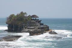 Tanah mycket tempel, Bali, Indonesien Arkivbilder