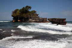 Tanahlot Tample Stock Image