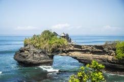Tanahpartij, Bali. Indonesië Stock Foto