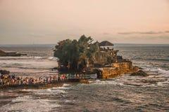 Tanahpartij, Bali, Indonesië, Azië stock afbeeldingen