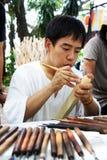 Tanaka de Japón tallaba la madera Imagen de archivo