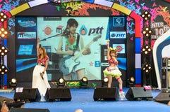 Tanaka Reina and Okada Marina from LoVendor Group Stock Images