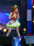 """Tanaka Reina (Vocals Leader) from LoVendor Group. BANGKOK - AUGUST 30 : Tanaka Reina (Vocals Leader) from LoVendor Group in Japan Festa in Bangkok 2014 """"Enter Royalty Free Stock Photos"""