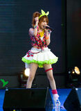 Tanaka Reina (Vocals ledare) från den LoVendor gruppen arkivbild