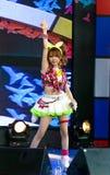 Tanaka Reina (Vocals ledare) från den LoVendor gruppen royaltyfri fotografi