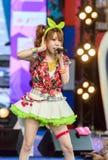 Tanaka Reina (Vocals ledare) från den LoVendor gruppen royaltyfria foton