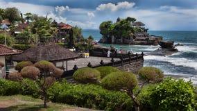 Tanalot tempel i östliga Bali Royaltyfri Foto
