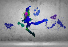 tancerka abstrakcyjne Obrazy Royalty Free